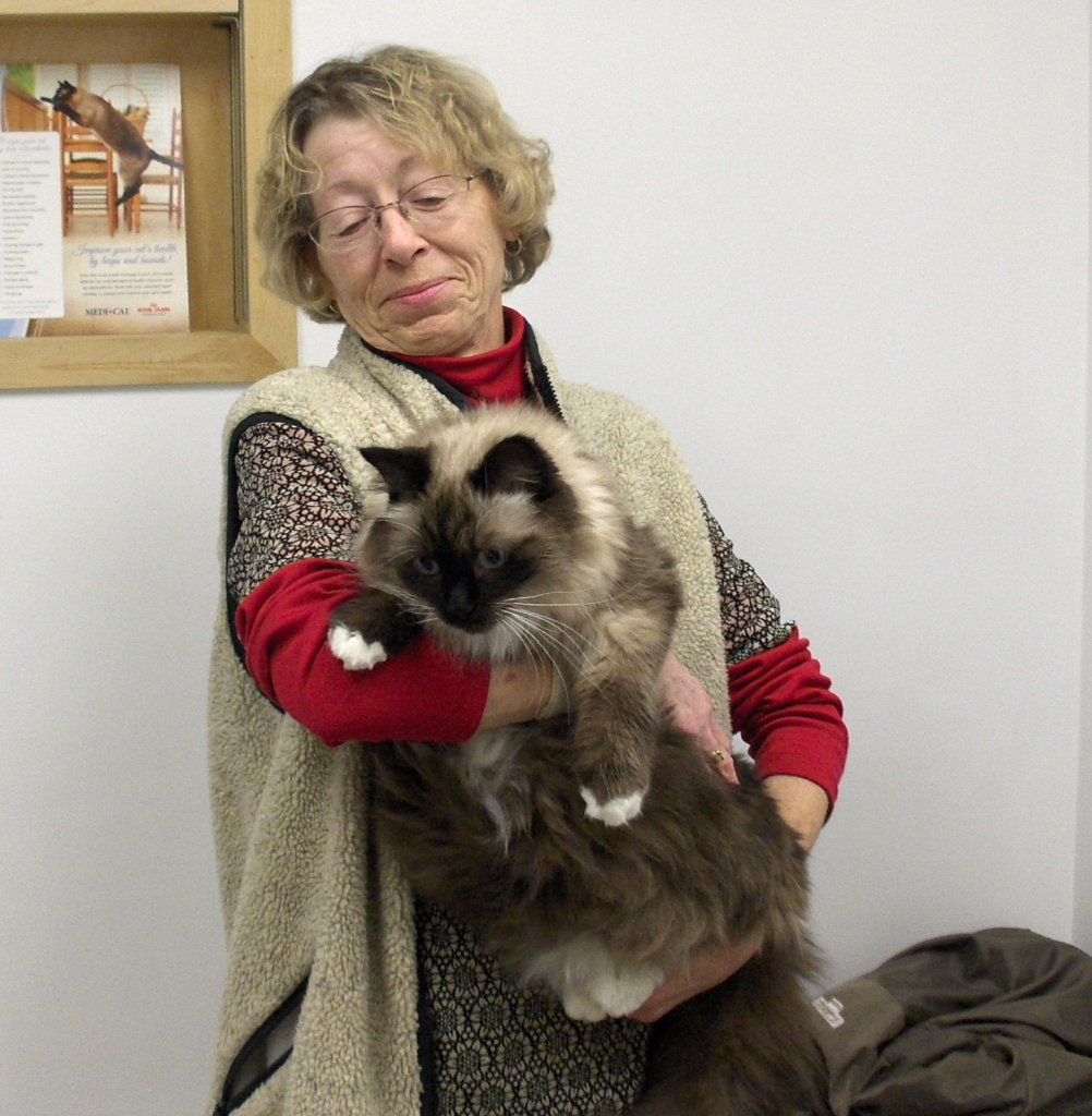Prince George Veterinary Hospital - Prince George, BC - Our receptionist Joan